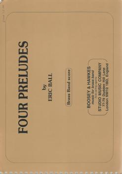 Four Preludes for Brass Band (Score Only) - Eric Ball