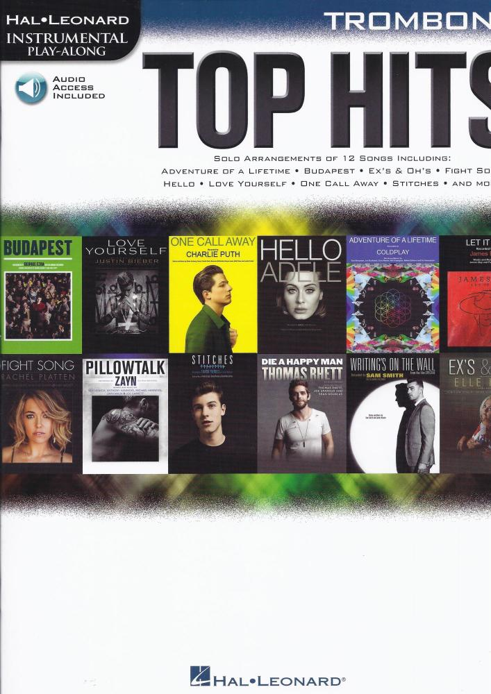 Top Hits for Trombone - Hal Leonard