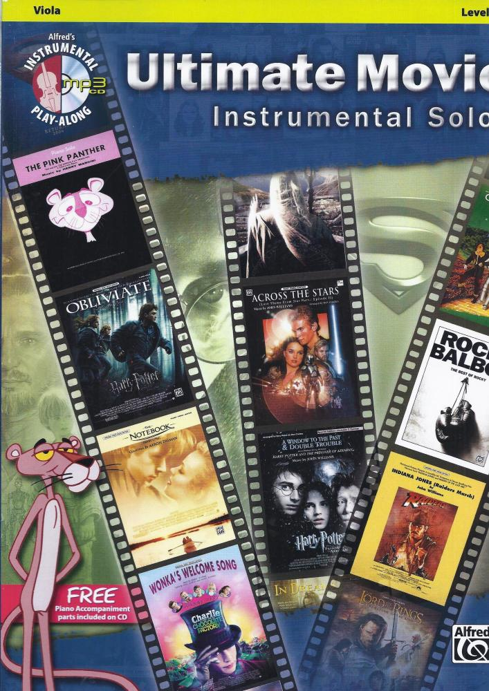Ultimate Movie Instrumental Solos - Viola