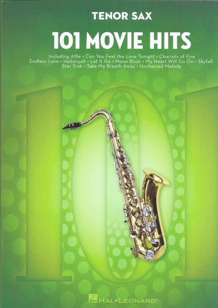 101 Movie Hits - Tenor Saxophone