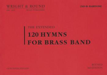 120 Hymns for Brass Band 2nd Bb Baritone