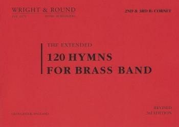 120 Hymns for Brass Band 2nd/3rd Cornet
