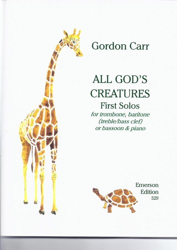 All God's Creatures (trombone, baritone, Bassoon (BC/TC)
