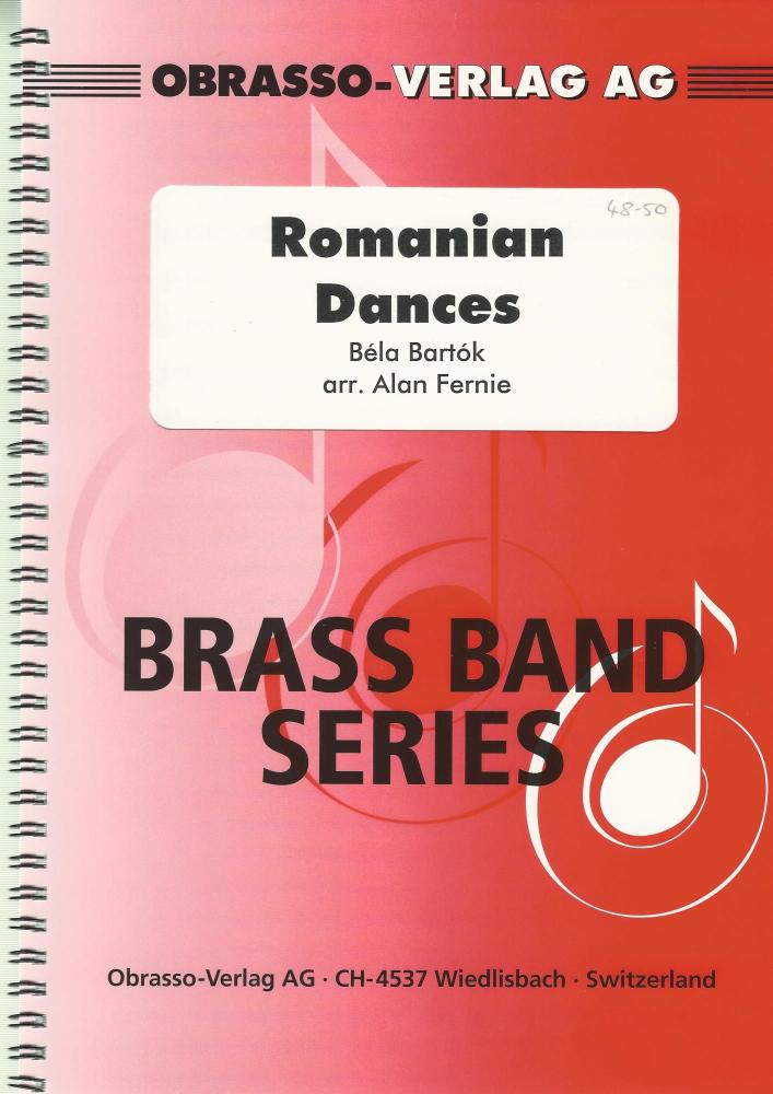 Romanian Dances for Brass Band - Bela Bartok arr. Alan Fernie