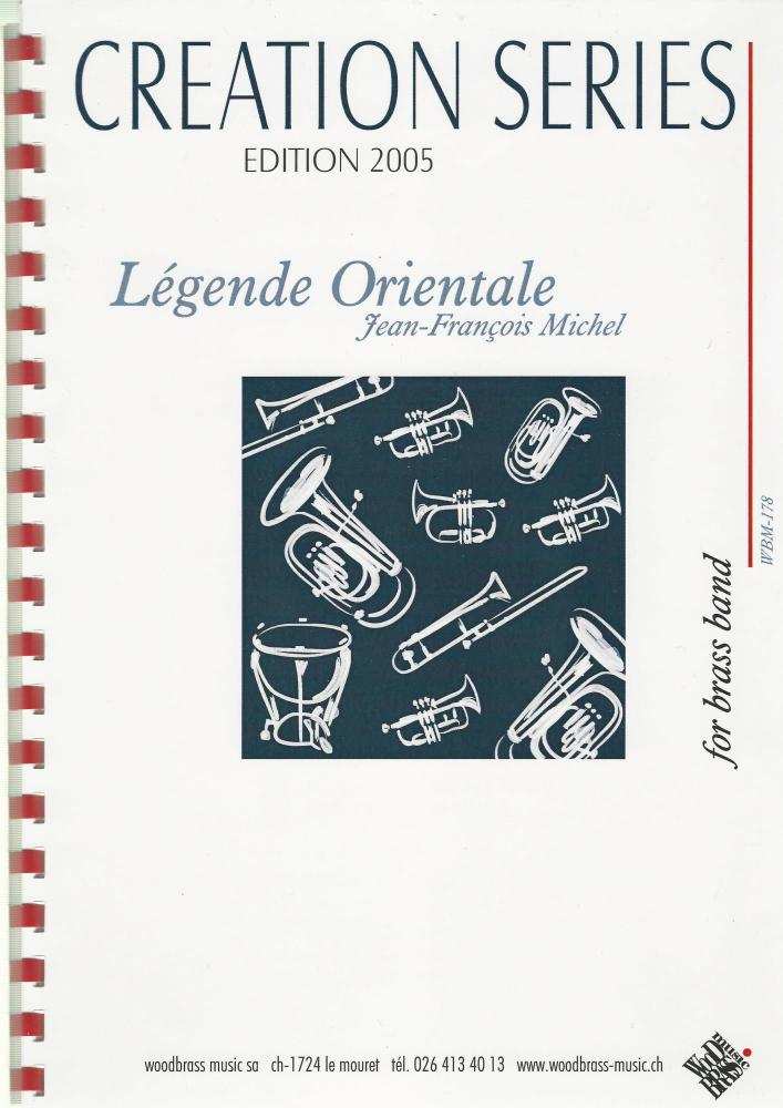 Legende Orientale for Brass Band - Jean-Francois Michel