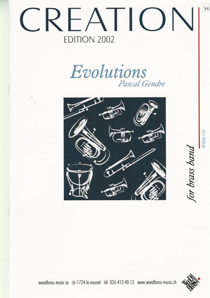 Evolutions for Brass Band - Pascal Gendre