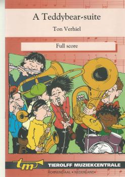 A Teddybear-suite for Brass Band (4-part Level 2) - Ton Verhiel