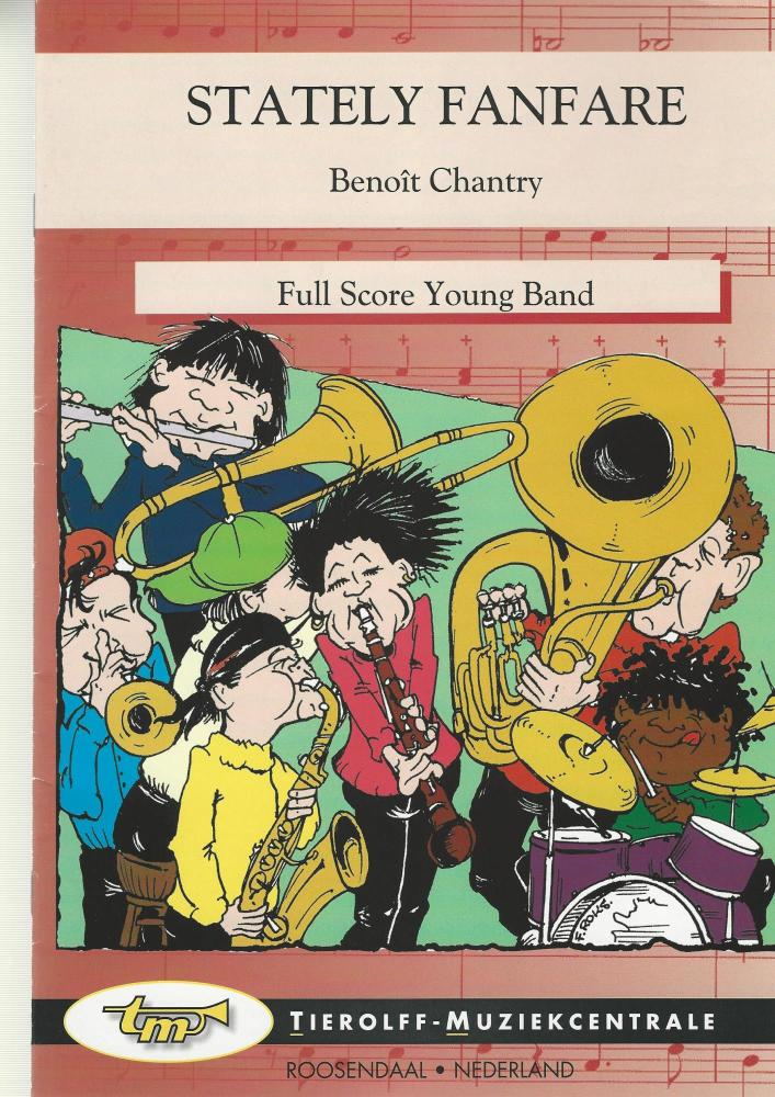 Stately Fanfare for Brass Band (4-Part Level 2) - Benoit Chantry