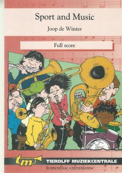 Sport and Music for Brass Band (4-Part Level 2) - Joop de Winter