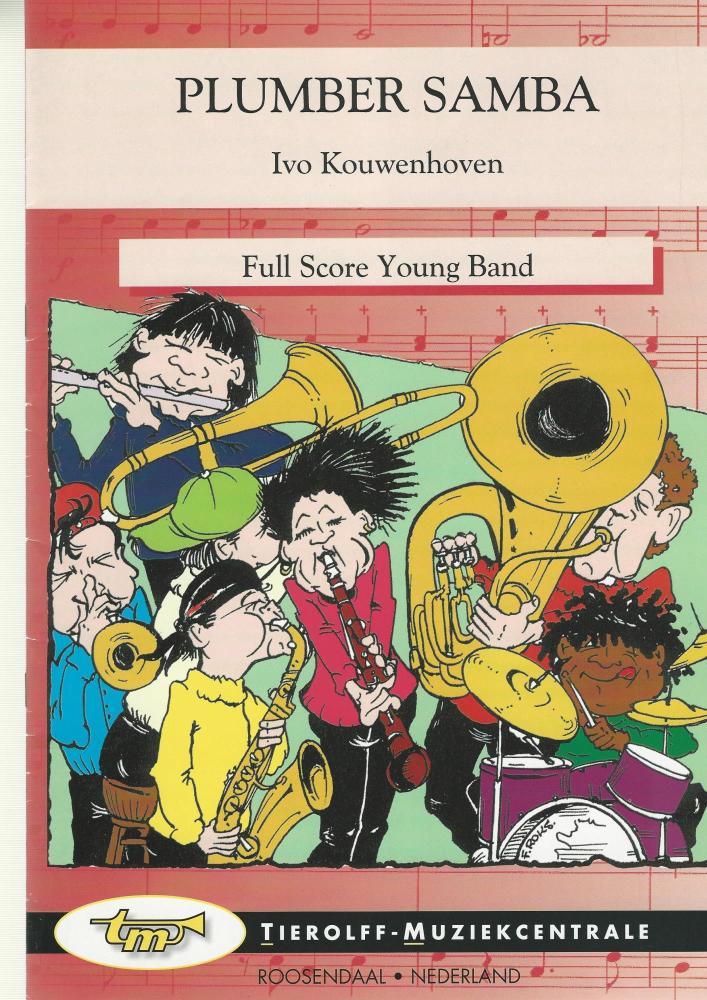 Plumber Samba for Brass Band (4-part Level 2) - Ivo Kouwenhoven
