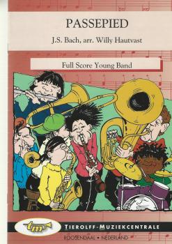 Passepied for Brass Band (4-part Level 2) - J.S. Bach arr. Willy Hautvast