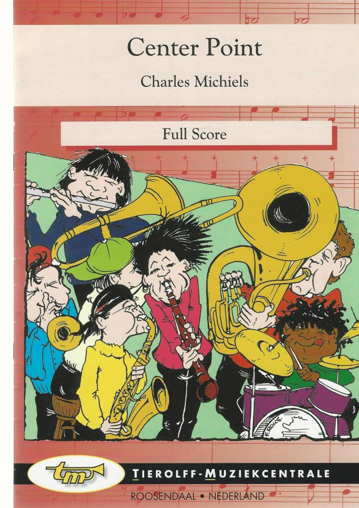 Center Point for Brass Band (4-part Level 2) - Charles Michiels