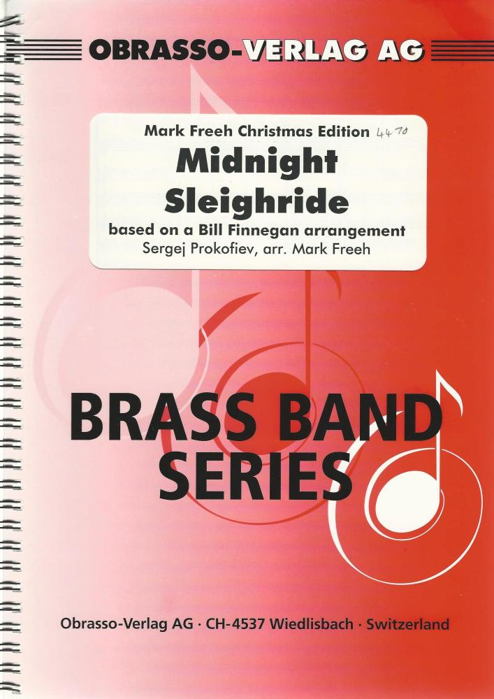 Midnight Sleighride for Brass Band - Sergei Prokofiev, arr. Mark Freeh