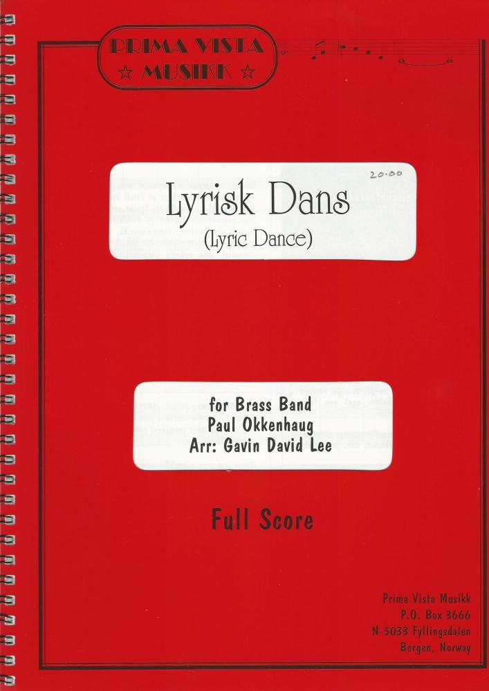 Lyric Dance (Lyrisk Dans) for Brass Band - Paul Okkenhaug arr. Gavin David