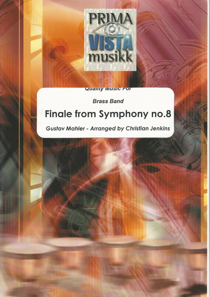 Finale from Symphony no. 8 for Brass Band (Score Only) - Gustav Mahler, arr