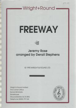 Freeway for Brass Band - Jeremy Rose arr. Denzil Stephens