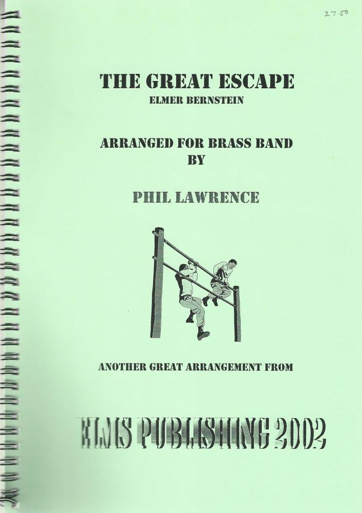 The Great Escape for Brass Band - Elmer Bernstein arr. Phil Lawrence