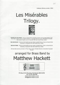 Les Miserables Trilogy for Brass Band - C-M Schonberg arr. Matthew Hackett
