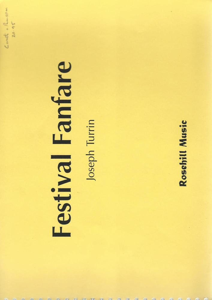 Festival Fanfare for Cornets and Percussion - Joseph Turrin