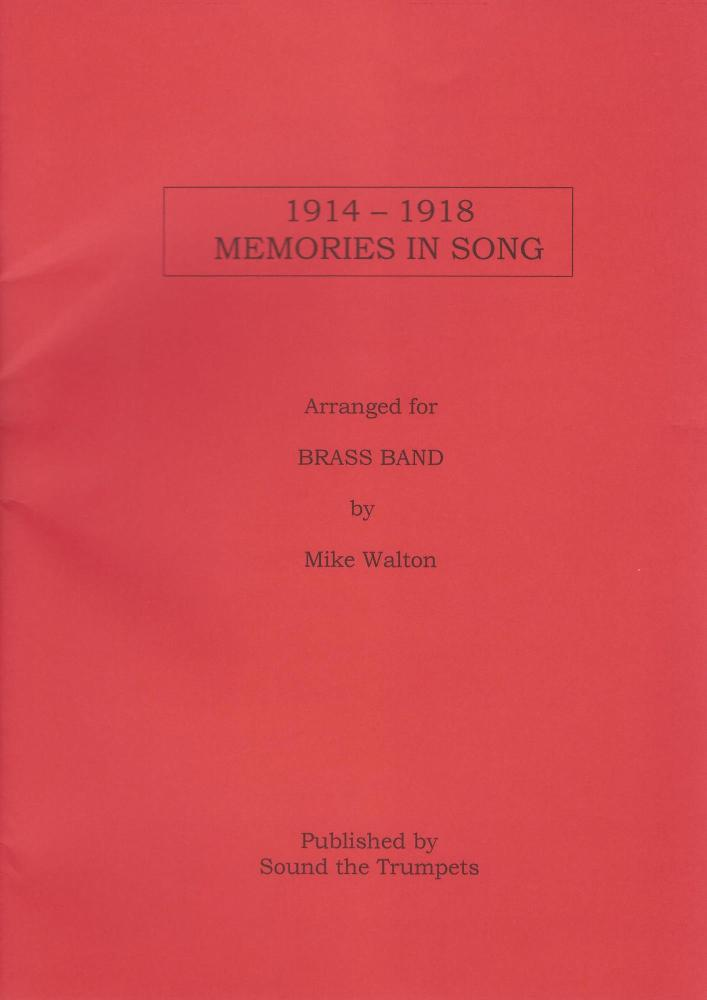1914-1918 Memories in Song for Brass Band - Mike Walton