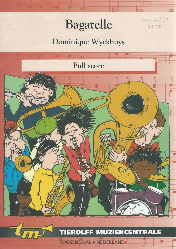 Bagatelle for Brass Band (4 part level 1) - Dominque Wyckhuys