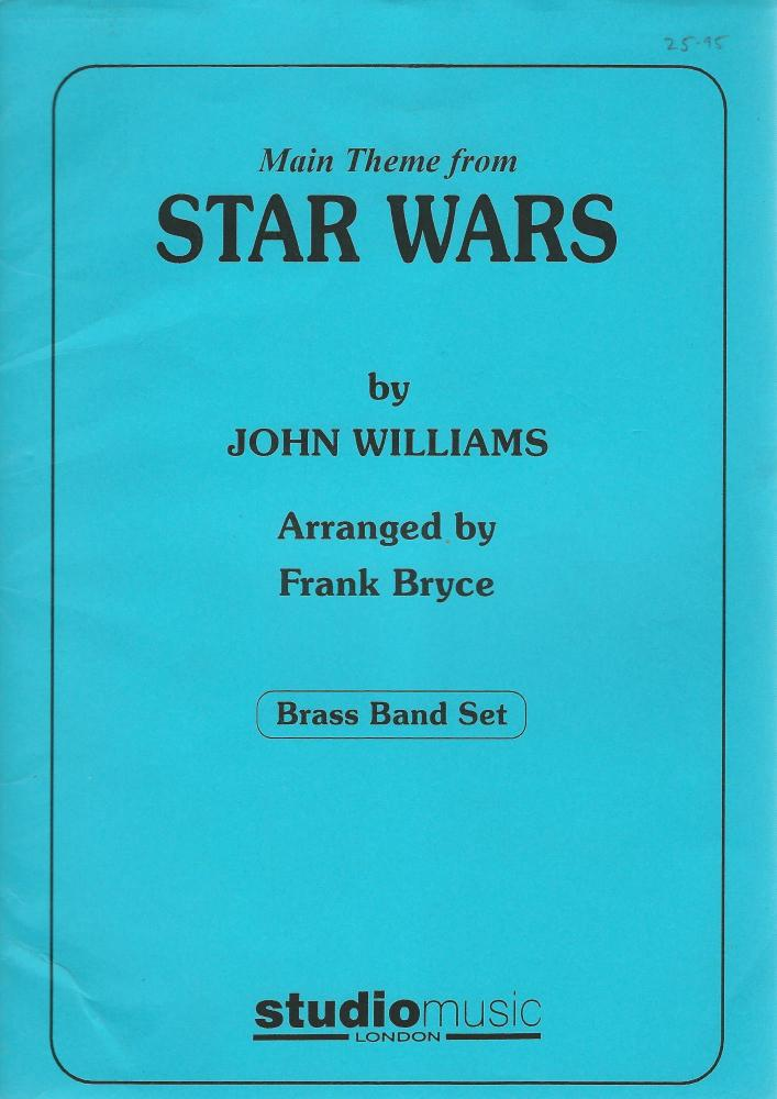 Main Theme from Star Wars for Brass Band - John Williams, arr. Frank Bryce