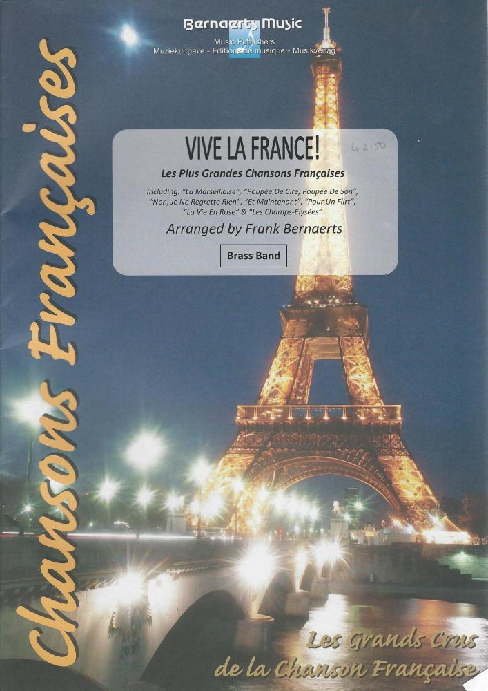 Vive La France! for Brass Band - arr. Frank Bernaerts