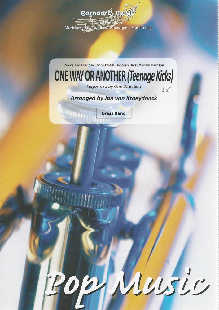 One Way or Another (Teenage Kicks) - One Direction arr. Jan van Kraeydonck