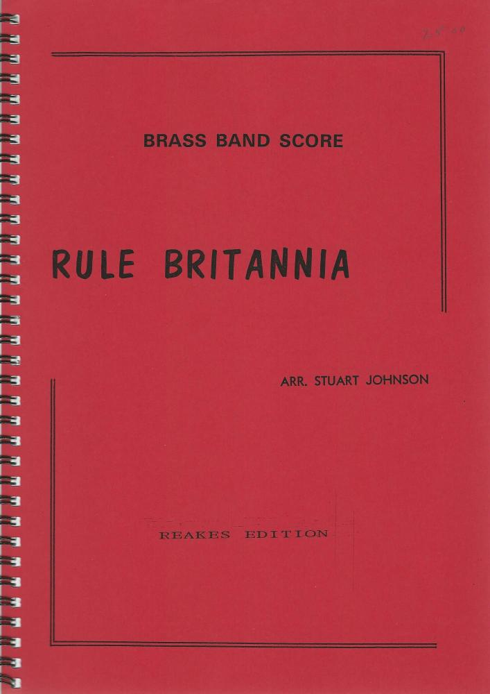 Rule Britannia for Brass Band - arr. Stuart Johnson
