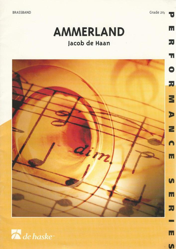 Ammerland for Brass Band (Score Only) - Jacab de Haan