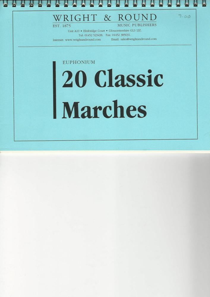 20 Classic Marches - Euphonium