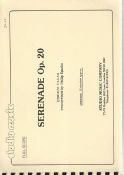 Serenade Op. 20 for Brass Band - Edward Elgar, trans. Philip Sparke