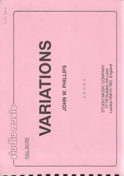 Variations for Brass Band - John W. Phillips