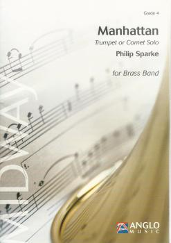 Manhattan Trumpet or Cornet Solo for Brass Band - Philip Sparke