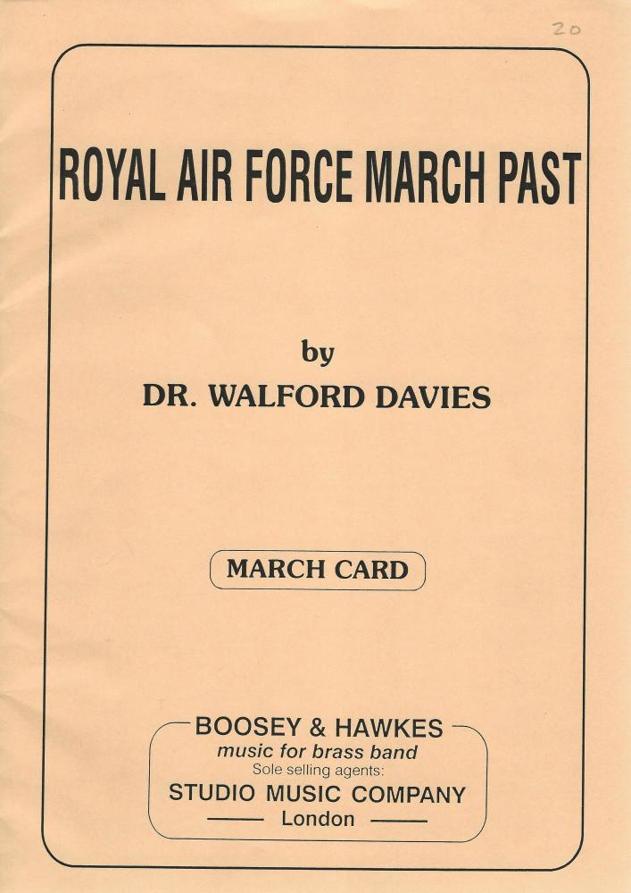 Royal Air Force March Past for Brass Band - Dr. Walford Davies