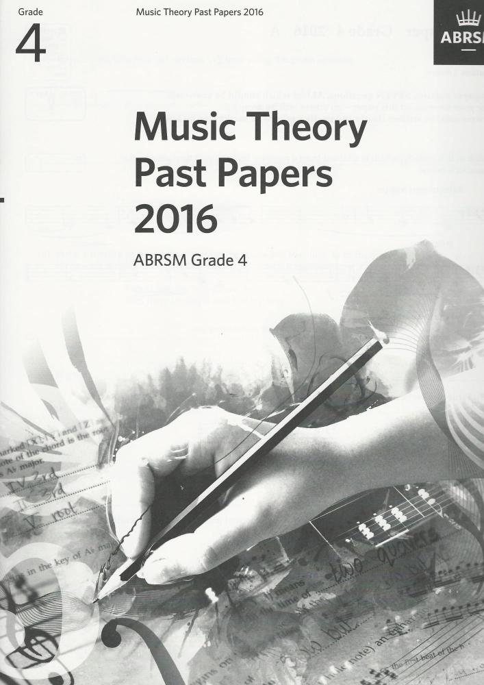 ABRSM Music Theory Past Papers 2016 Grade 4