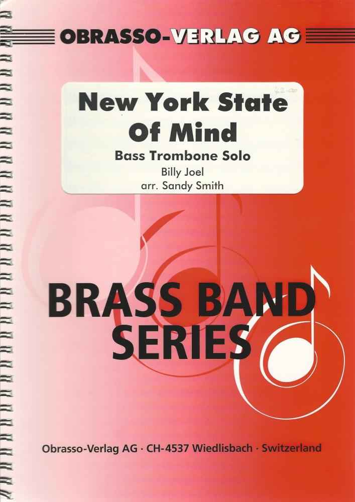 New York State of Mind, Bass Trombone Solo for Brass Band - Billy Joel, arr
