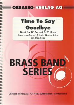 Time To Say Goodbye, Duet for Bb Cornet & Eb Horn and Brass Band - arr. Dan Price