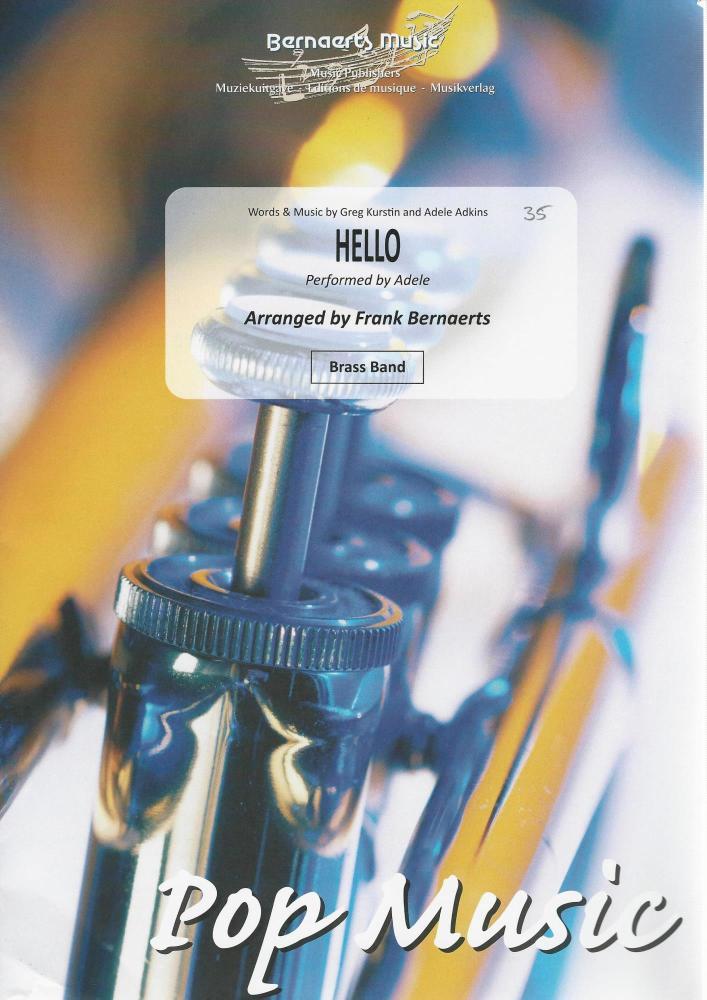 Hello (Adele) for Brass Band - arr. Frank Bernaerts