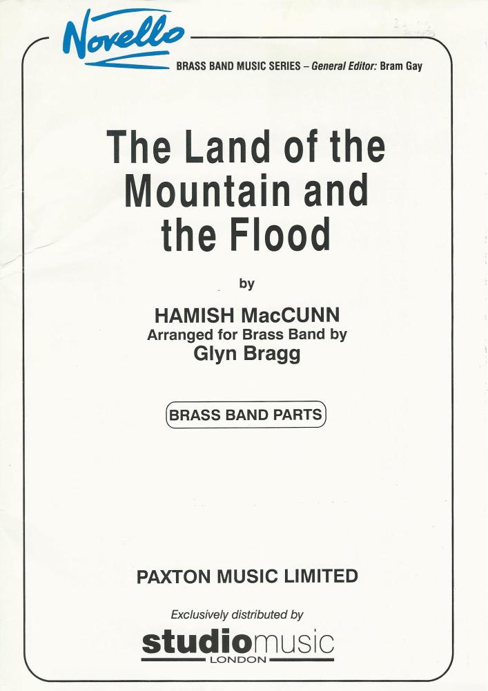 The Land of the Mountain and the Flood for Brass Band (Parts Only) - Hamish