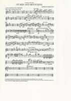 Of Men and Mountains for Brass Band (parts only) - Edward Gregson - NO SCORE