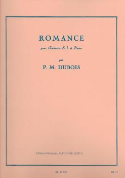 Pierre-Max Dubois: Romance (Bb Clarinet/Piano)