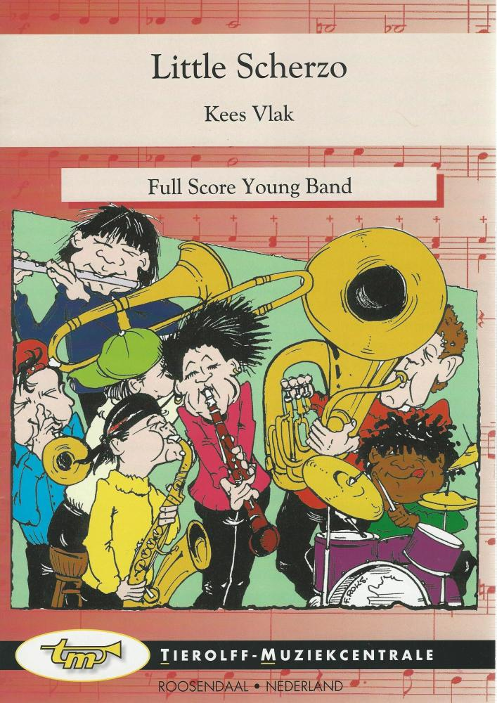 Little Scherzo for Young Band (5-part) - Kees Vlak