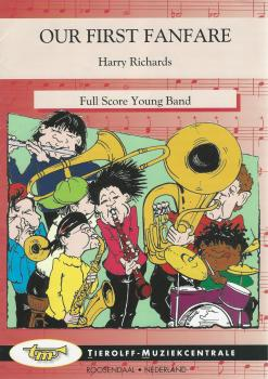 Our First Fanfare for Young Band (5-part) - Harry Richards