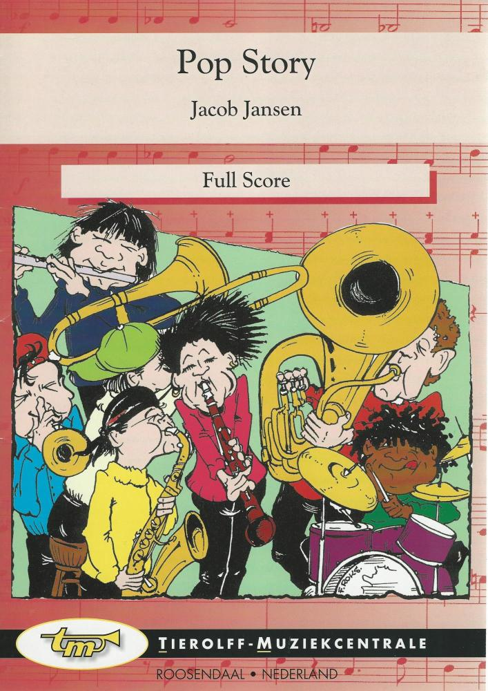 Pop Story for Young Band (5-part) - Jacob Jansen