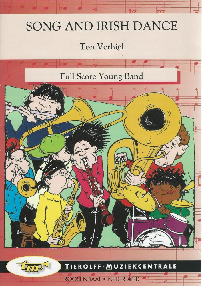 Song and Irish Dance for Young Band (5 part) - Ton Verhiel