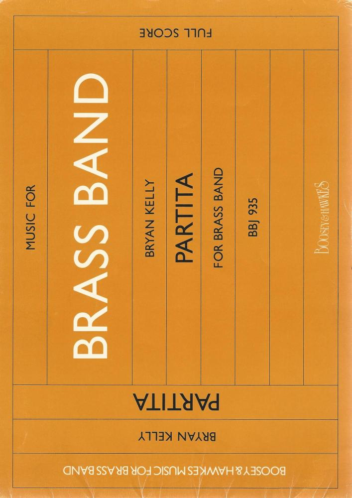 Partita for Brass Band - Bryan Kelly