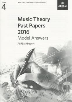 ABRSM Music Theory Past Papers 2016 Model Answers Grade 4
