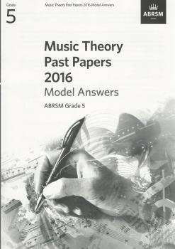 ABRSM Music Theory Past Papers 2016 Model Answers Grade 5