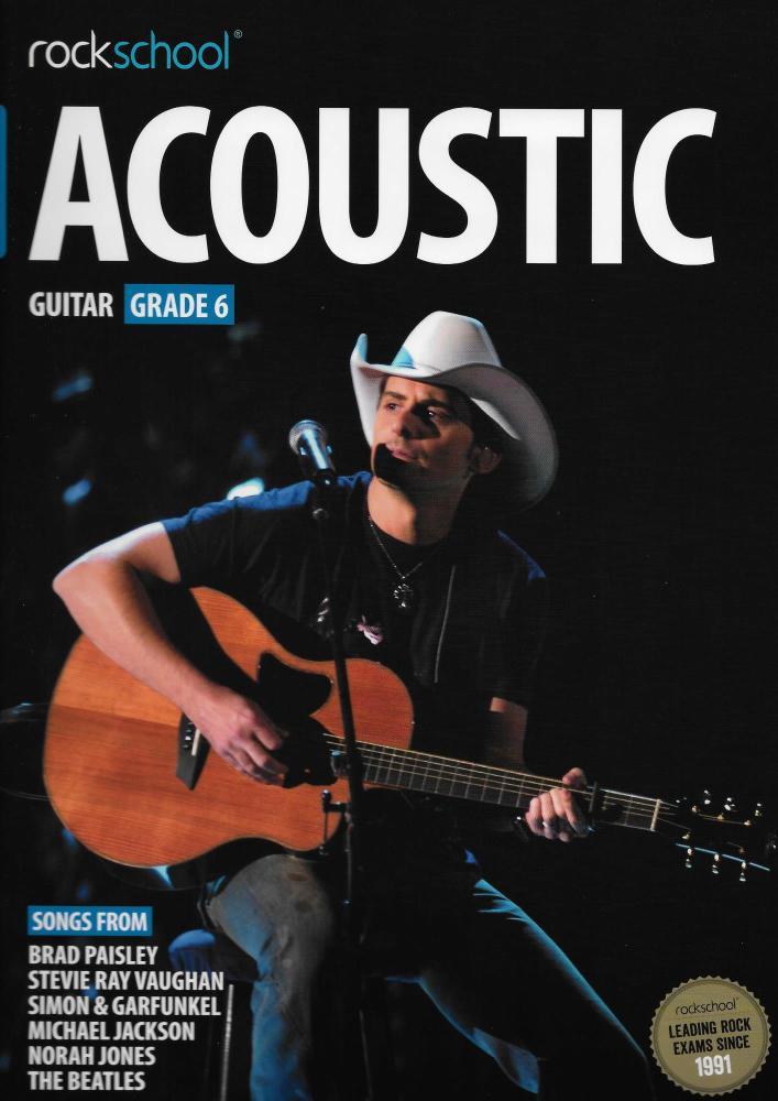 Rockschool Acoustic Guitar - Grade 6 (2016) (Book/Online Audio)